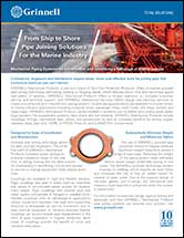 From Ship to Shore Pipe Joining Solutions For the Marine Industry